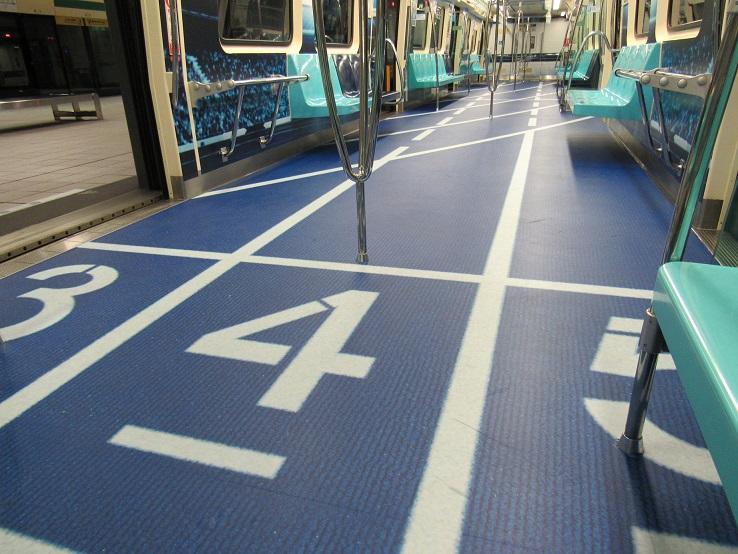 Taipei Universiade 2017 train carriage
