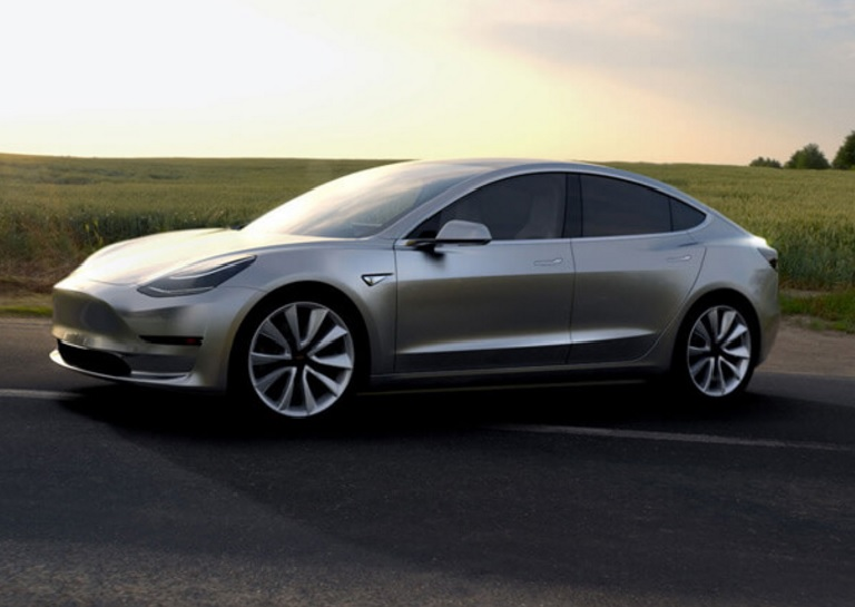 Tesla Model 3 production version to come out this week