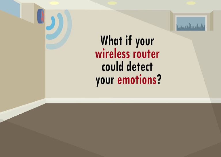 Detecting emotions through wireless signals