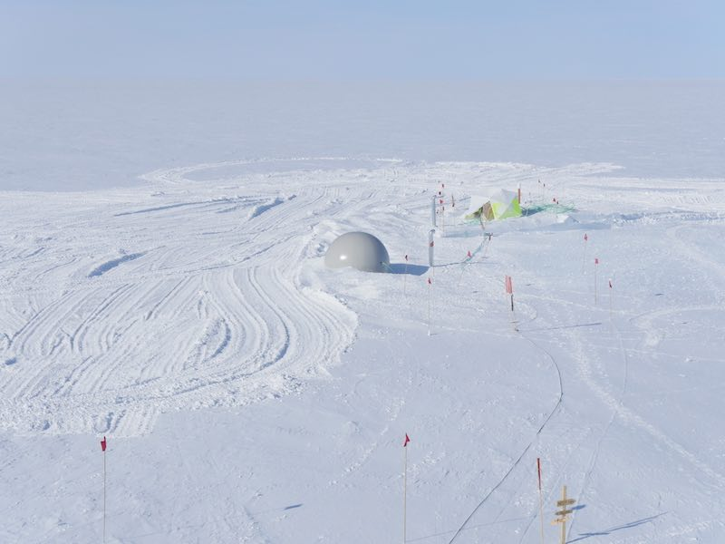 Scientists Use Giant Balloons to Build Underground Tunnels in the Arctic