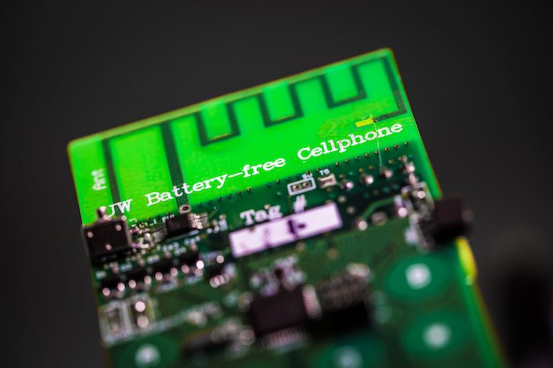 Researchers Have Developed the World's First Battery-Free Cellphone