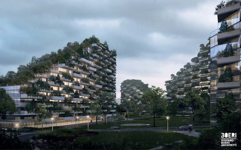 China is Building World's First Forest City Filled With Over One Million Plants