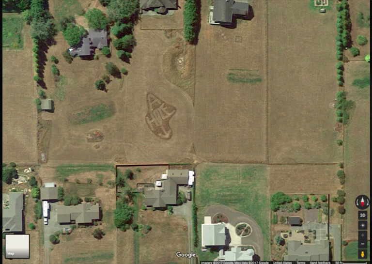 This Angry Guy Used Google Earth to Get the Ultimate Revenge on His Neighbor