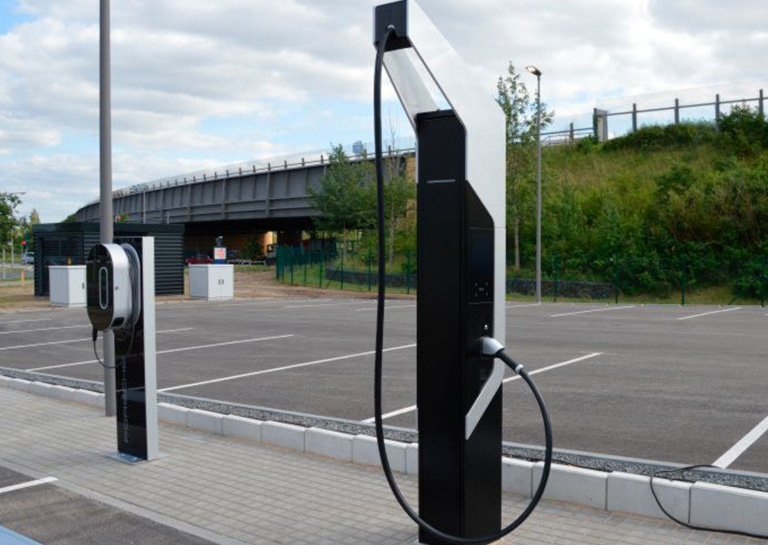 Porsche Installs Its First Superfast 350 kW Electric Car Chargers in Berlin