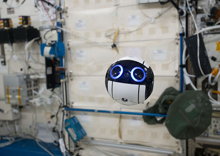 This Adorable Robotic Camera Is the Latest Member of the International Space Station