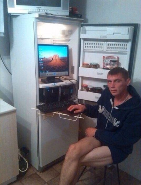 The Ways These People Cool Down Their Computers Will Make You Laugh Out Loud