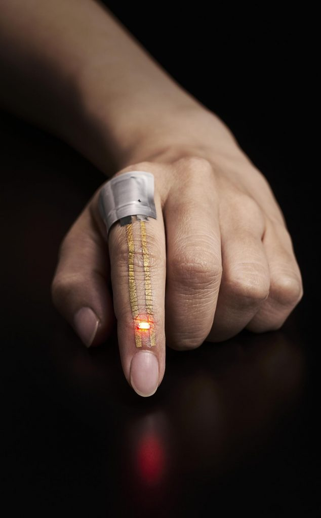 This Super Thin Wearable Sensor Could One Day Save Your life