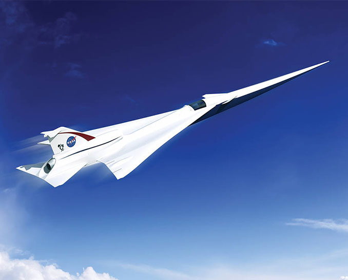 NASA Is Getting Closer to Building An Ultra-Quiet Supersonic Jet for Passenger Flight
