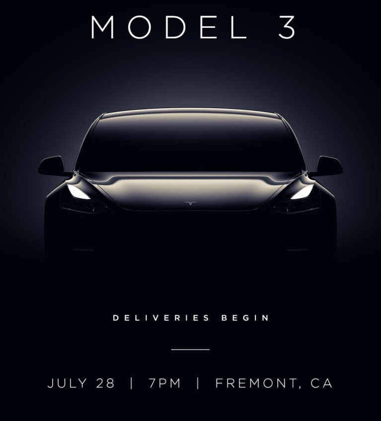 Watch Live: Tesla Will Hold An Exclusive 'Handover Party' for the First 30 Model 3 Owners