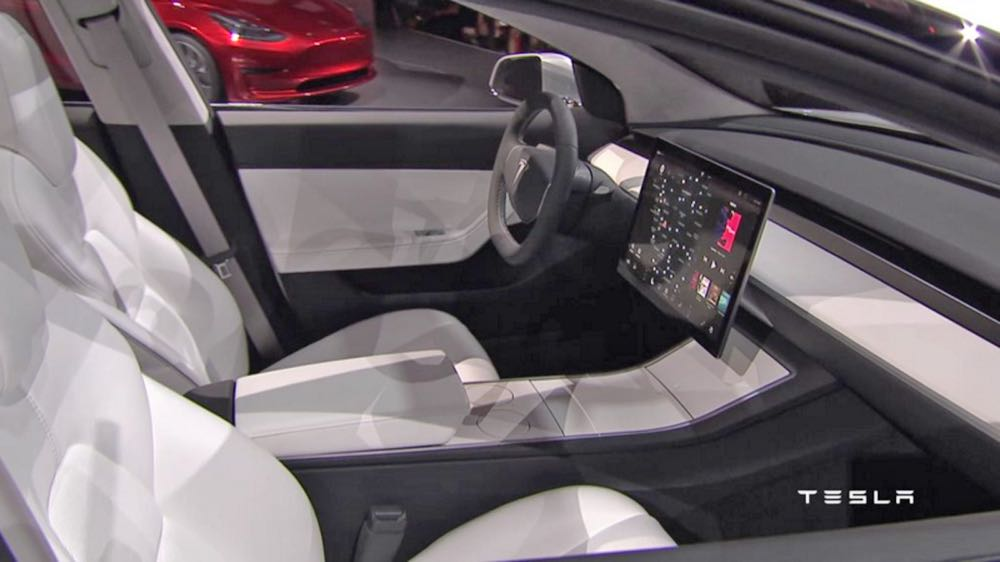 Discover the Futuristic Interior and World-Class Safety Features of the New Tesla Model 3