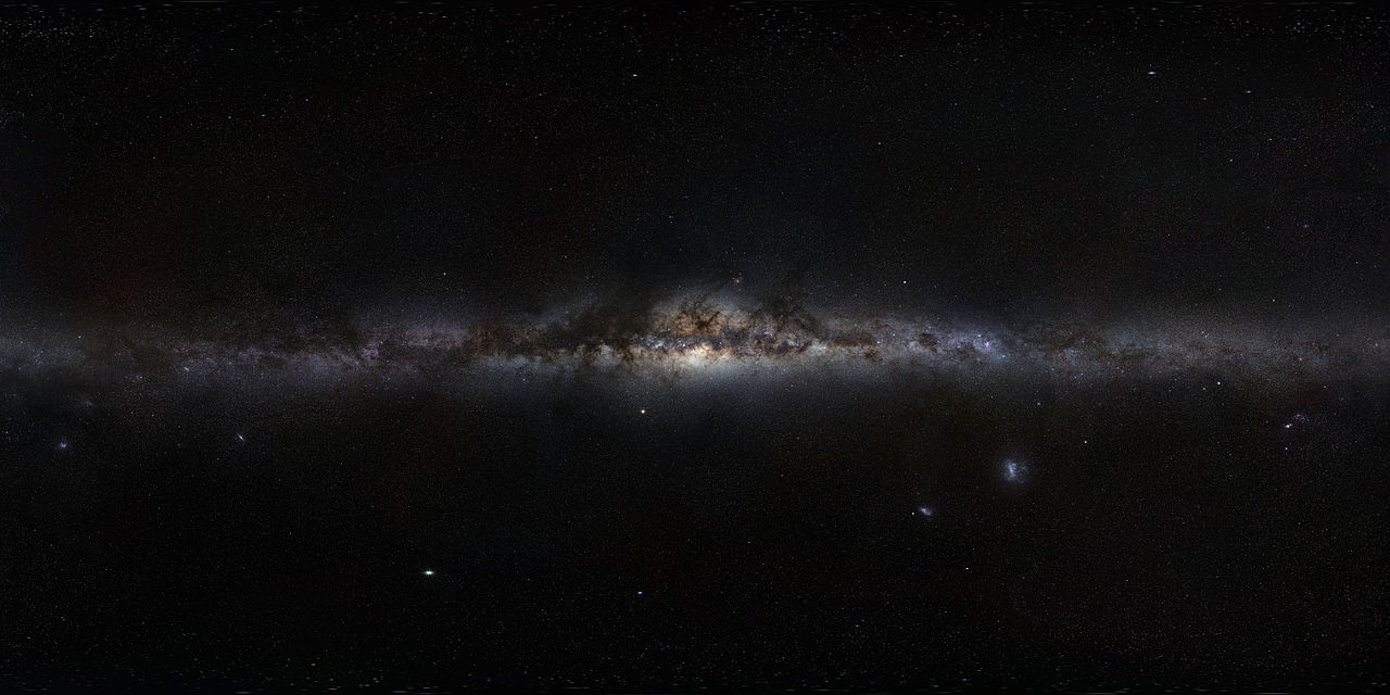 Kardashev Scale Milky Way