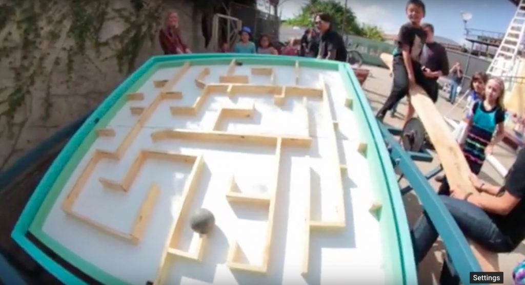 This Unusual Micro-Amusement Park is All About Lasers, Robots and VR