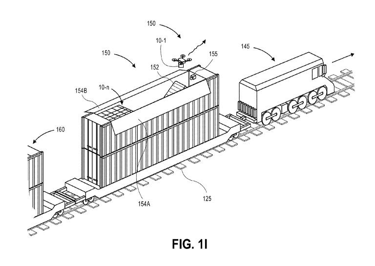 Amazon intermodal vehicles