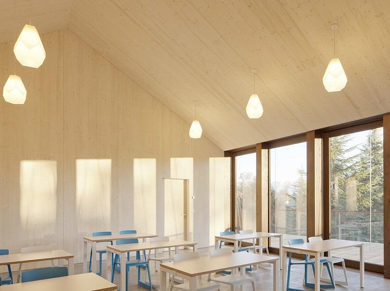 Bois-Genoud steiner school design
