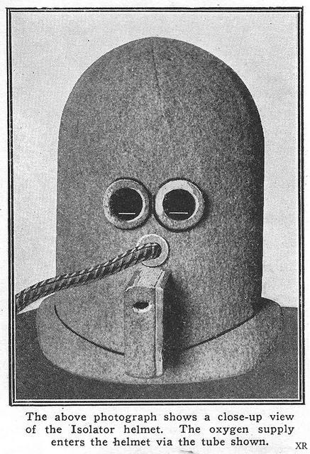 The Isolator helmet