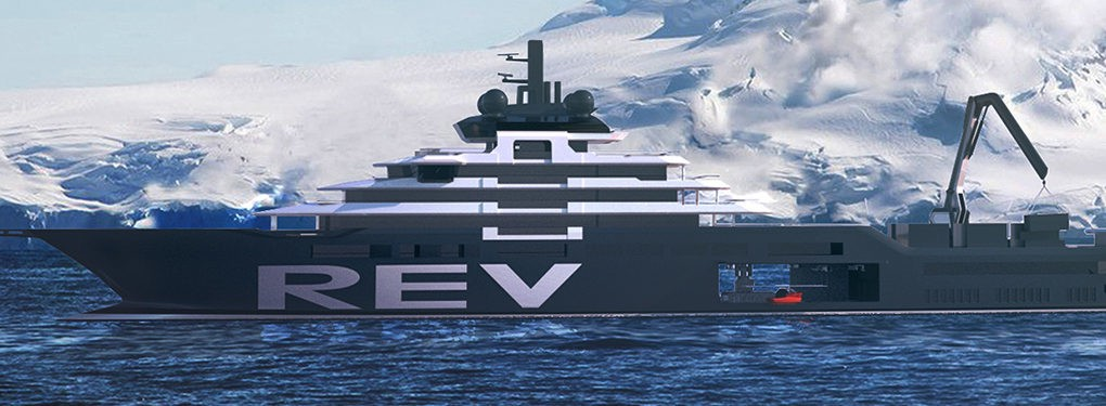 Norwegian Billionaire Funds 600-Foot Superyacht to Help Save the Ocean