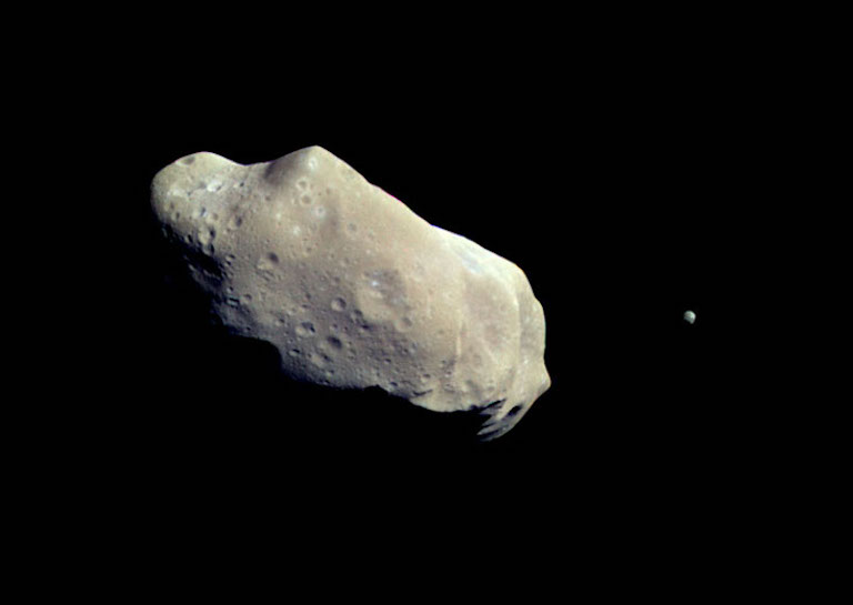 Asteroids in the Early Solar System May Have Been Giant Balls of Mud