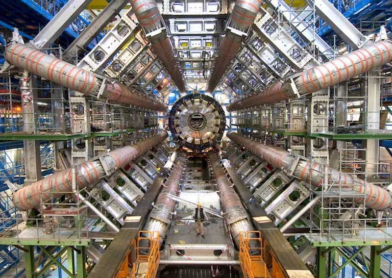 biggest machines LHC