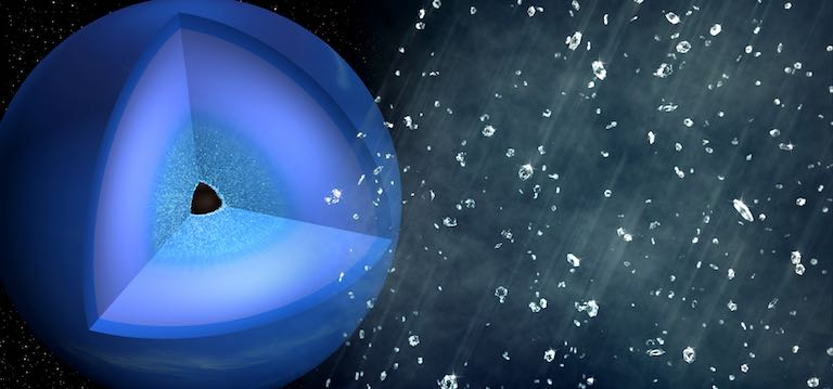 Scientists Recreate 'Diamond Rain' of Neptune and Uranus Here on Earth