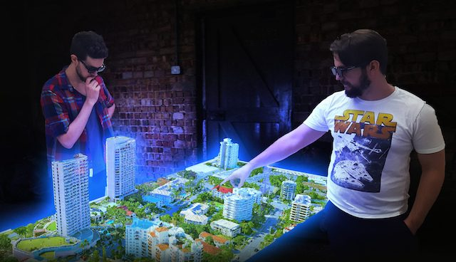 The World's First Multi-User Hologram Table Is Here and It Looks Mind-Blowing