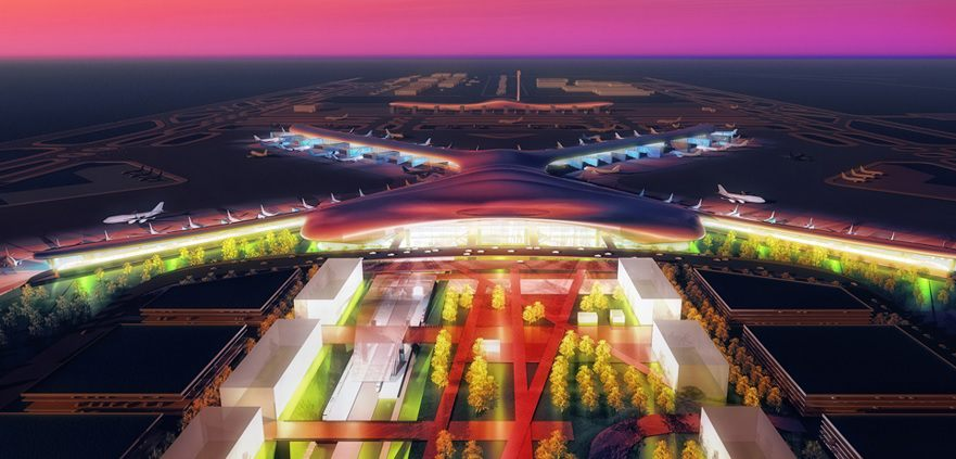 13 Futuristic Airport Designs