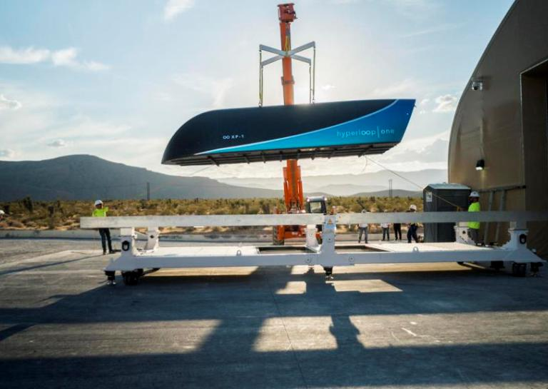 Hyperloop One Hits Record 192mph in Its Latest Test