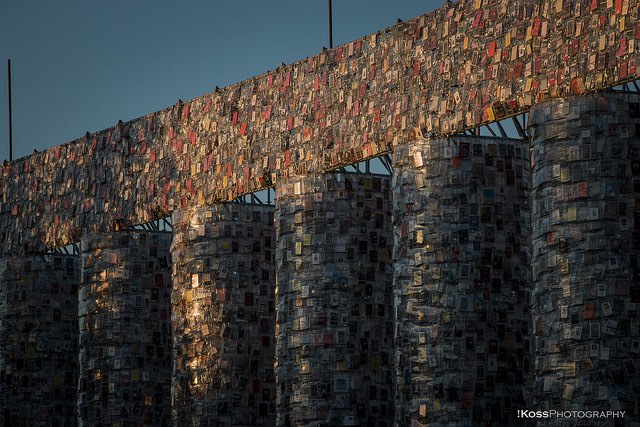 Artist Recreates the Parthenon out of 100,000 Banned Books at Historic Nazi Book-Burning Site