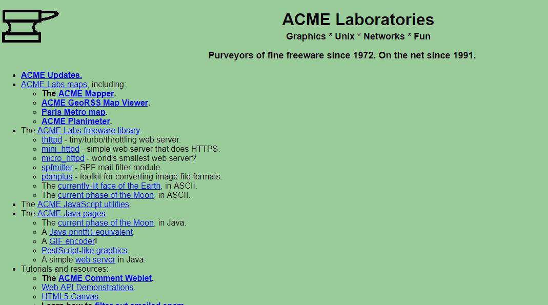 Top 12 Oldest Websites From The 80s and 90s Still Online Today