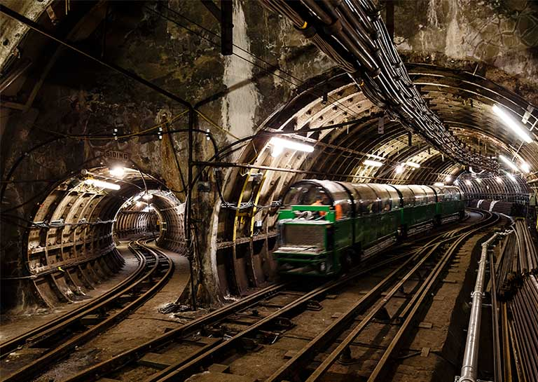 You Can Now Take a Ride on London's Historic Underground Mail Rail