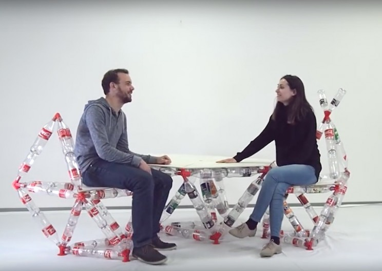 This Software Helps You Turn Plastic Bottles Into Strong Large-Scale Structures