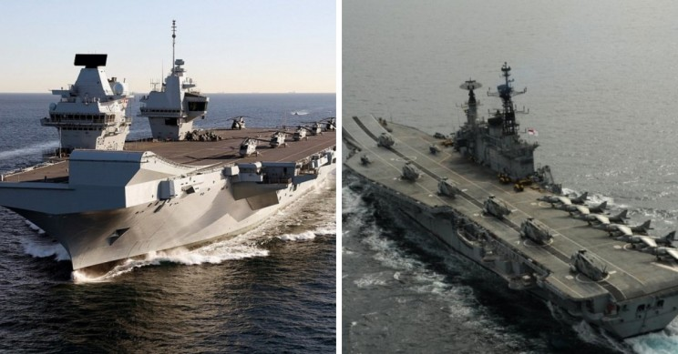 12+ of The Biggest Aircraft Carriers in The World