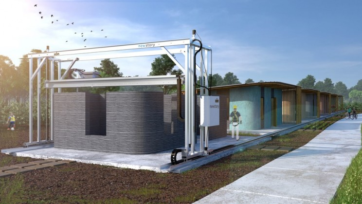 This $10,000 3D-Printed Concrete House Took Only 24 Hours to Build