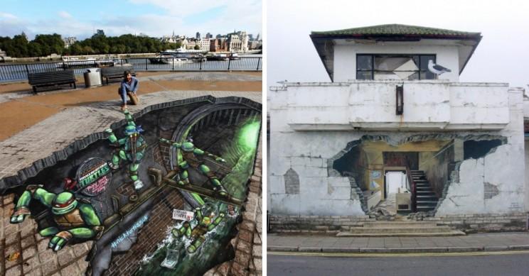 25+ Amazing Images of 3D Street Art
