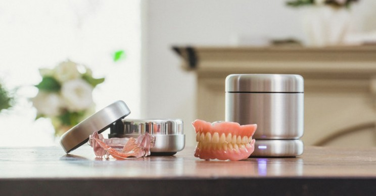 The World's First Smart Oral Appliance Cleaner is Coming