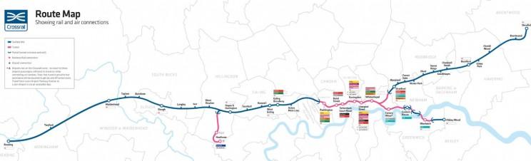 Cross Rail Map