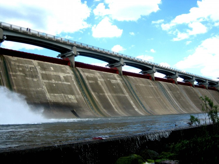 hydroelectrical dam