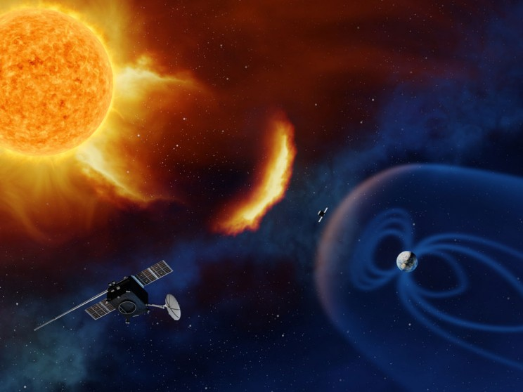 EU Space Agency Will Position Spacecraft Near the Sun to Monitor Solar Activity
