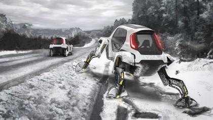 Hyundai Unveils New Concept Car that has Legs