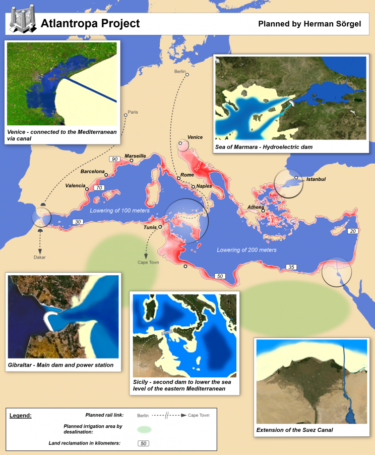 atlantropa project map