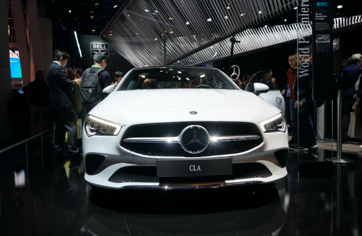 Mercedes-Benz Introduces CLA Coupé as the Intelligent Luxury Car