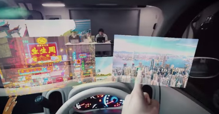 Nissan Showcases Technology Allowing Driver to 'See the Invisible'