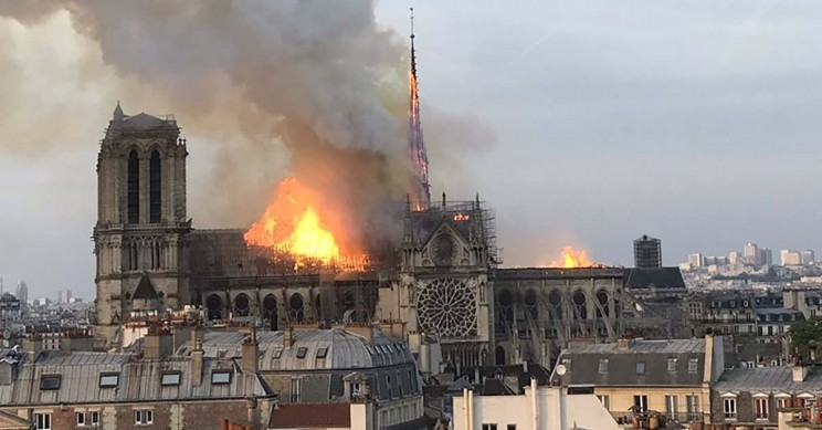 France Announces Competition to Redesign Notre Dame Spire