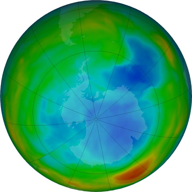 ozone hole 2018