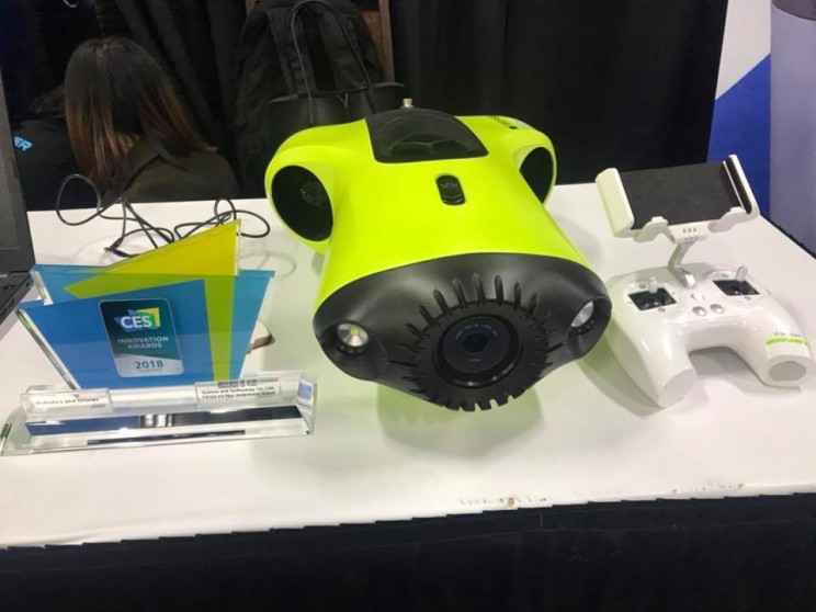 This Underwater Exploration Drone Wins the CES 2018 Innovation Award