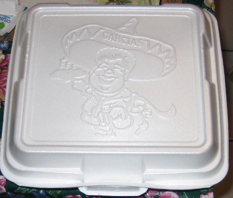 don't microwave styrofoam