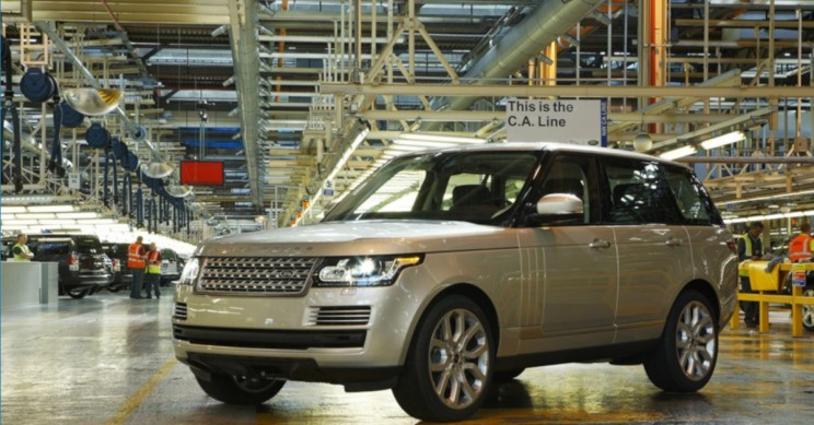 Jaguar Land Rover Plans on Cutting 4,500 Jobs