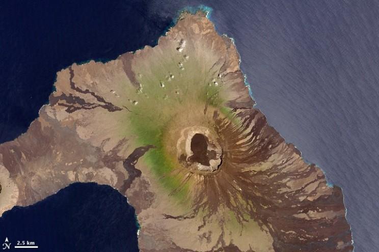 wolf volcano Isabela island Galapagos