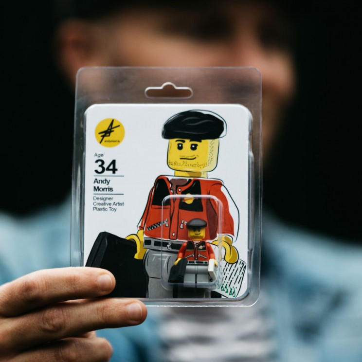 This Artist Created a LEGO Figure of Himself to Land His Dream Job