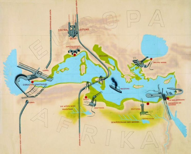 atlantropa map