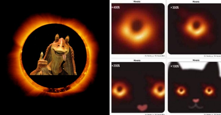 7 Hilarious Black Hole Memes on Social Media
